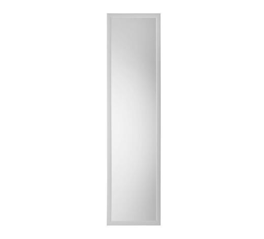 SPIEGEL Silberfarben - Silberfarben/Alufarben, Design, Glas/Kunststoff (35/140cm) - Boxxx