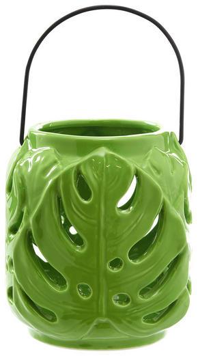 LJUSLYKTA - grön, Trend, keramik (11,8/13cm) - Ambia Home