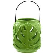 WINDLICHT - Grün, Trend, Keramik (11,8/13cm) - Ambia Home