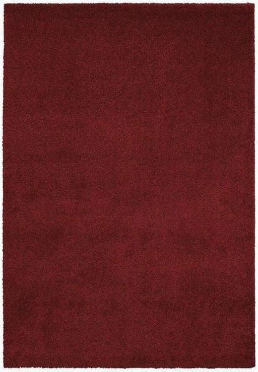HOCHFLORTEPPICH  60/110 cm   Dunkelrot - Dunkelrot, Basics, Textil (60/110cm) - Novel