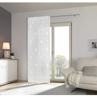 FERTIGVORHANG halbtransparent - Weiß, LIFESTYLE, Textil (140/245cm) - Esposa