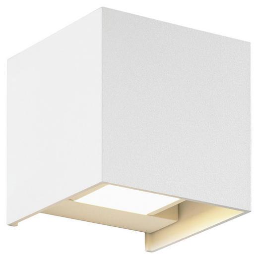 LED-AUßENLEUCHTE - Weiß, Basics, Metall (10/10/10cm)