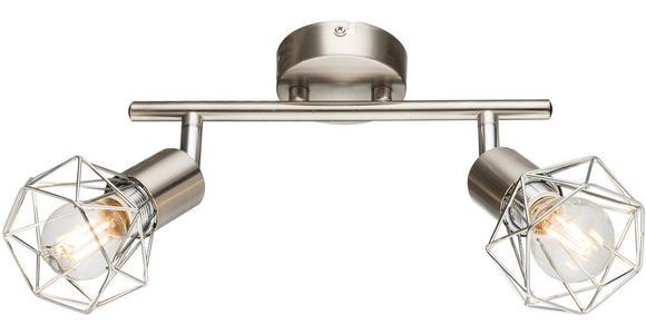 Strahler Evelin 2-Flammig verstellbar L: 25,5 cm - MODERN, Metall (25,5/19,5cm) - Luca Bessoni