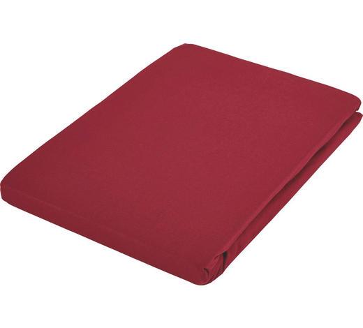 SPANNLEINTUCH 90/190 cm  - Bordeaux, Basics, Textil (90/190cm) - Fussenegger