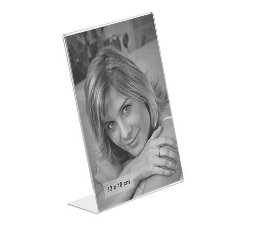 CLIPRAHMEN  Klar - Klar, Basics, Kunststoff (13/18cm) - Boxxx