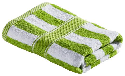 HANDTUCH 50/100 cm - Weiß/Grün, KONVENTIONELL, Textil (50/100cm) - Esposa