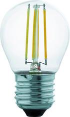 LED ŽÁROVKA - čiré, Basics (7,3cm) - HOMEWARE