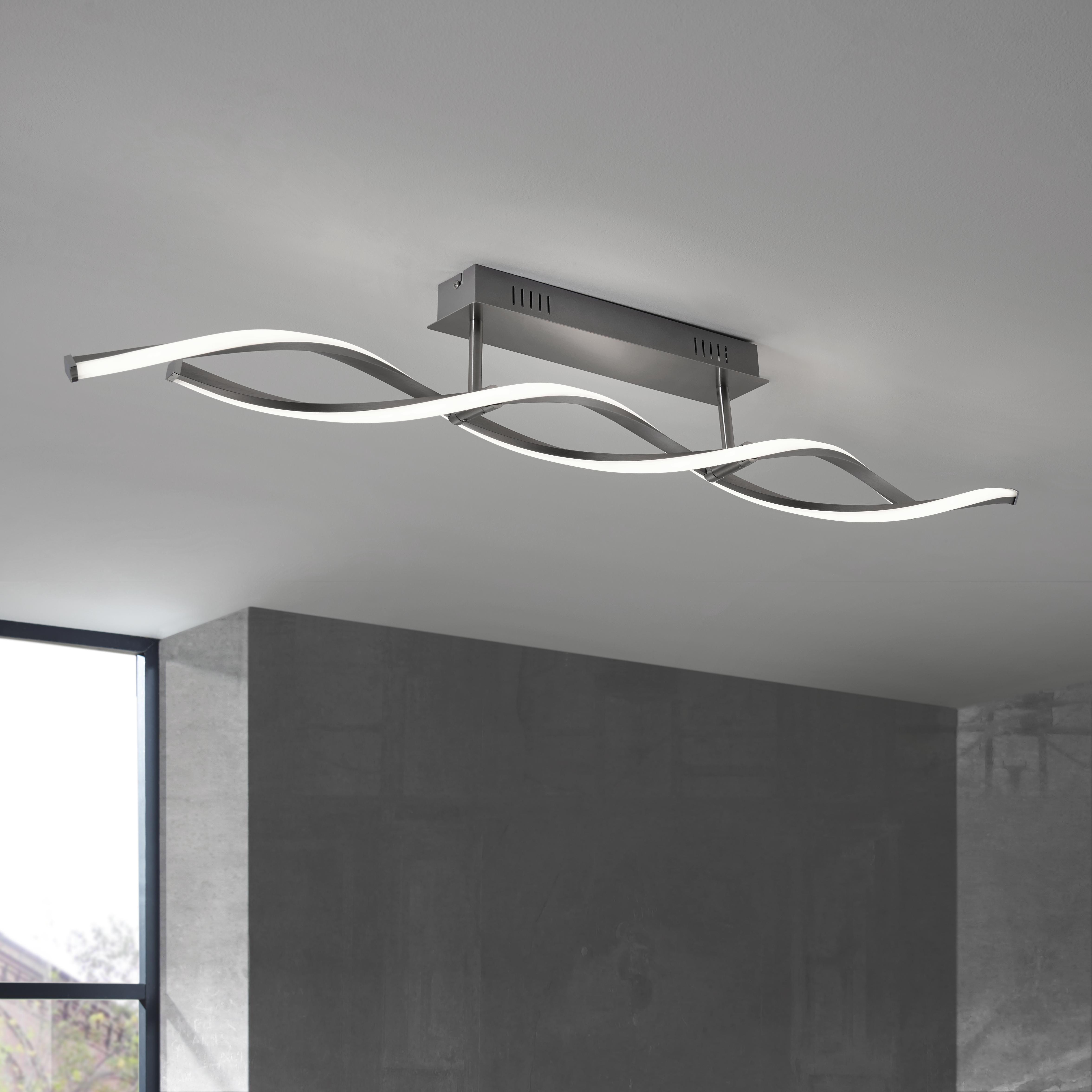 Underbar LED-TAKLAMPA hitta på nätet ➤ XXXLutz UG-65