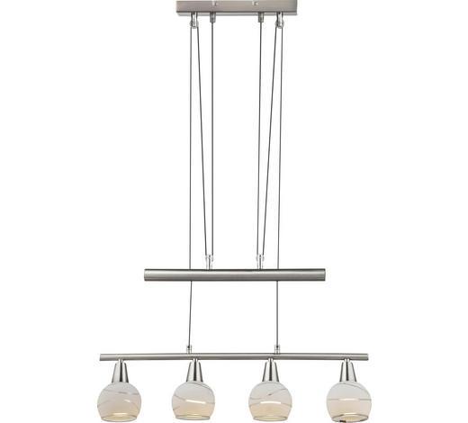 LED-HÄNGELEUCHTE   - KONVENTIONELL, Glas/Metall (60/10/160cm) - Boxxx