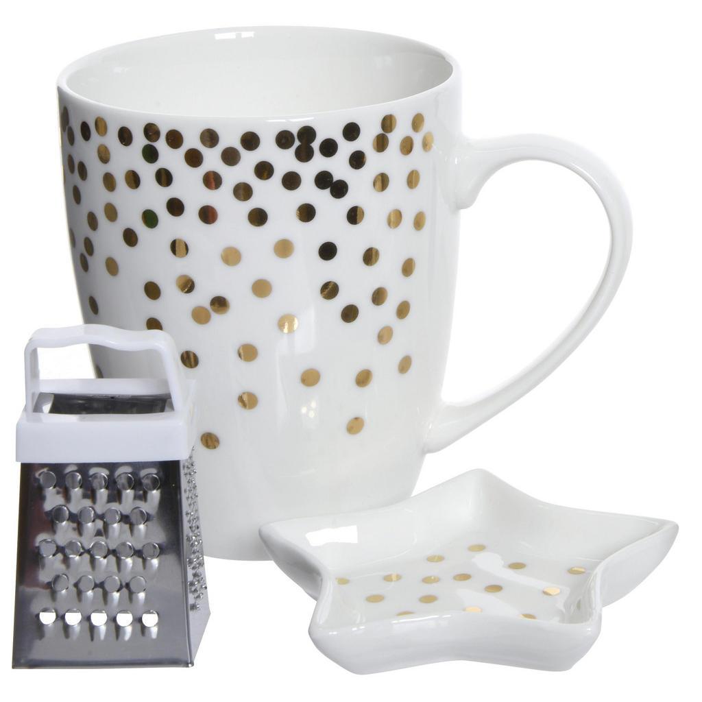 Tassenset für Kaffee, Tee und Kakao