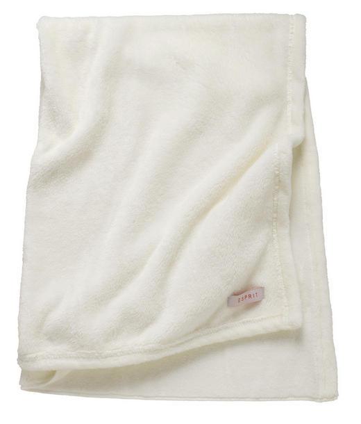 KUSCHELDECKE Creme - Creme, Basics, Textil (150/200cm) - Esprit
