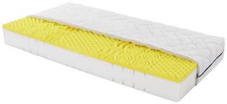 Komfortschaummatratze Yoga Feel 90x200cm H2 - Weiß, Textil (90/200cm) - Primatex
