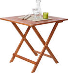 VRTNI SKLOPIVI STOL - boje tikovine, Konvencionalno, drvo (75/72/75cm) - AMBIA GARDEN