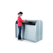 AUFBEWAHRUNGSBOX - Silberfarben, Design, Metall (163/78/120cm) - Biohort