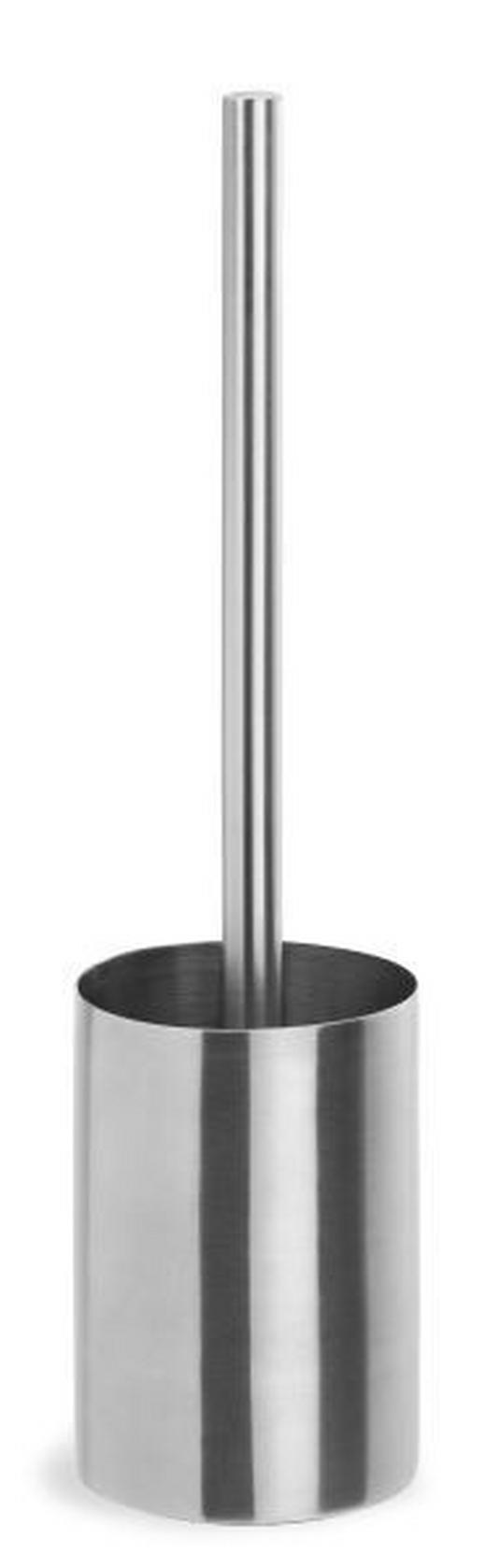 WC-BÜRSTENGARNITUR - Edelstahlfarben, Basics, Kunststoff/Metall (9/35cm) - Blomus