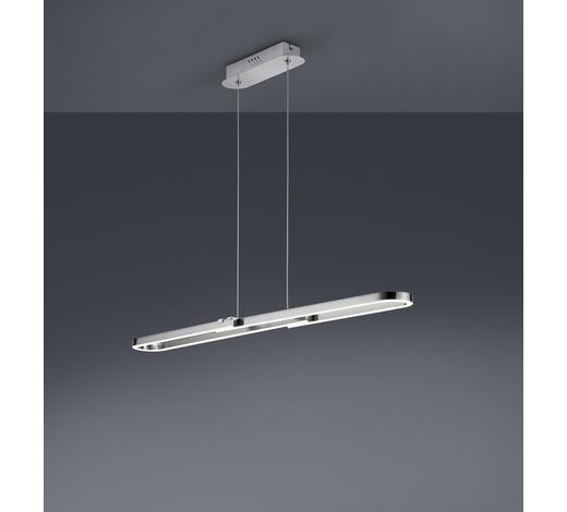 LED-HÄNGELEUCHTE   - Weiß/Nickelfarben, KONVENTIONELL, Kunststoff/Metall (100/150/11,5cm)