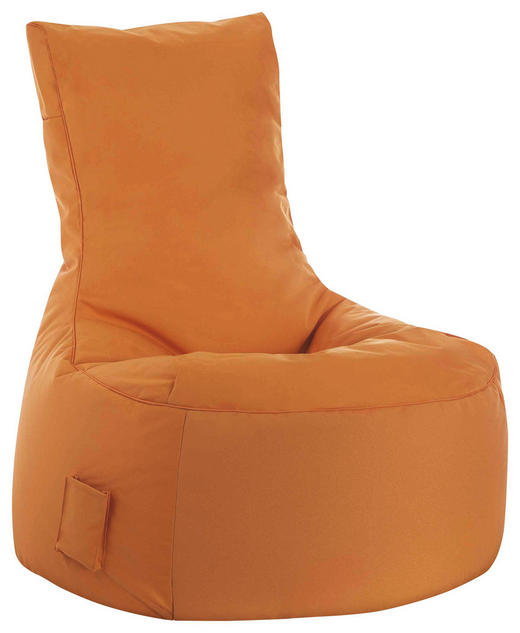 SITZSACK Orange - Orange, Design, Textil (90/95/65cm) - Carryhome