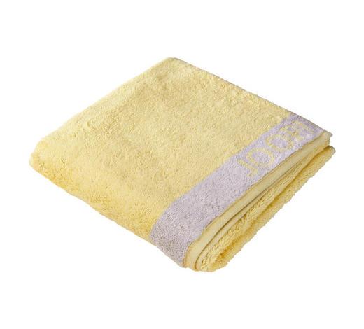 DUSCHTUCH 80/150 cm  - Gelb/Grau, Design, Textil (80/150cm) - Joop!