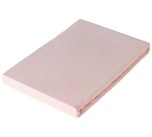 SPANNLEINTUCH 100/200 cm - Hellrosa, Basics, Textil (100/200cm) - Novel