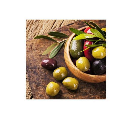 GLASBILD - Multicolor, Basics, Glas (30/30cm) - Monee
