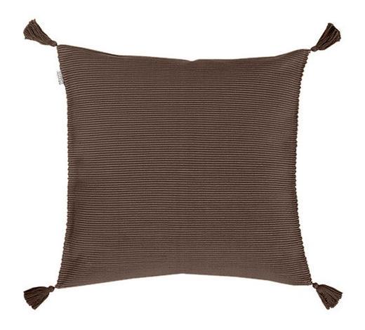 KISSENHÜLLE - Braun, Basics, Textil (70/70cm)