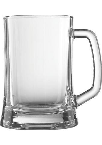 KOZAREC ZA PIVO PUB, 0,5L - prozorna, Basics, steklo (8,5cm) - Novel