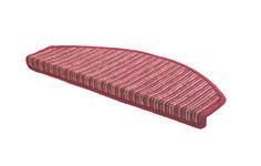 Stufenmatte in Terra cotta - Terra cotta, KONVENTIONELL, Textil (65/28cm) - Esposa