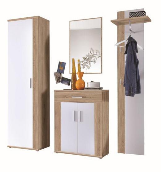 PREDSOBLJE - bijela/hrast Sonoma, Design, drvni materijal (170/198/34,5cm) - Boxxx