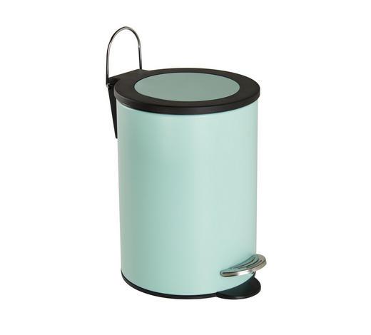 TRETEIMER Metall - Schwarz/Mintgrün, Basics, Kunststoff/Metall (17/24cm) - Sadena