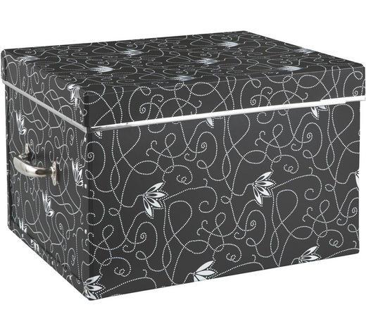 KARTONAGE  - Schwarz, Basics, Karton (50/28/38cm)