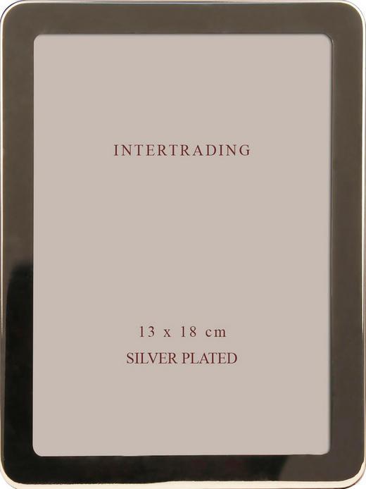 FOTORAHMEN  Silberfarben - Silberfarben, Basics, Glas/Metall (15/20/1,2cm)