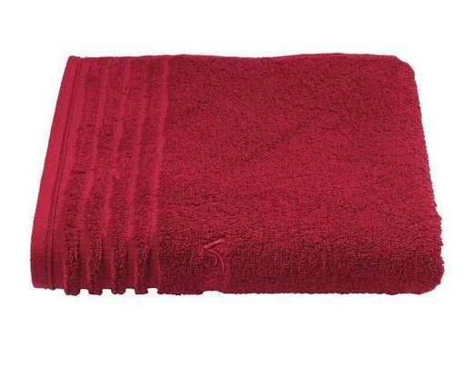 GÄSTETUCH  Dunkelrot 30/50 cm - Dunkelrot, Basics, Textil (30/50cm) - VOSSEN