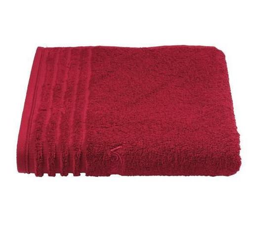 RUČNÍK PRO HOSTY, 30/50 cm, tmavě červená - tmavě červená, Basics, textil (30/50cm) - Vossen
