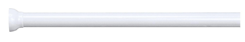 DUSCHVORHANGSTANGE  Weiß - Weiß, Basics, Metall (125-220cm) - SPIRELLA