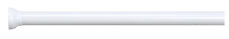 DUSCHVORHANGSTANGE  Weiß - Weiß, Basics, Metall (125-220cm)