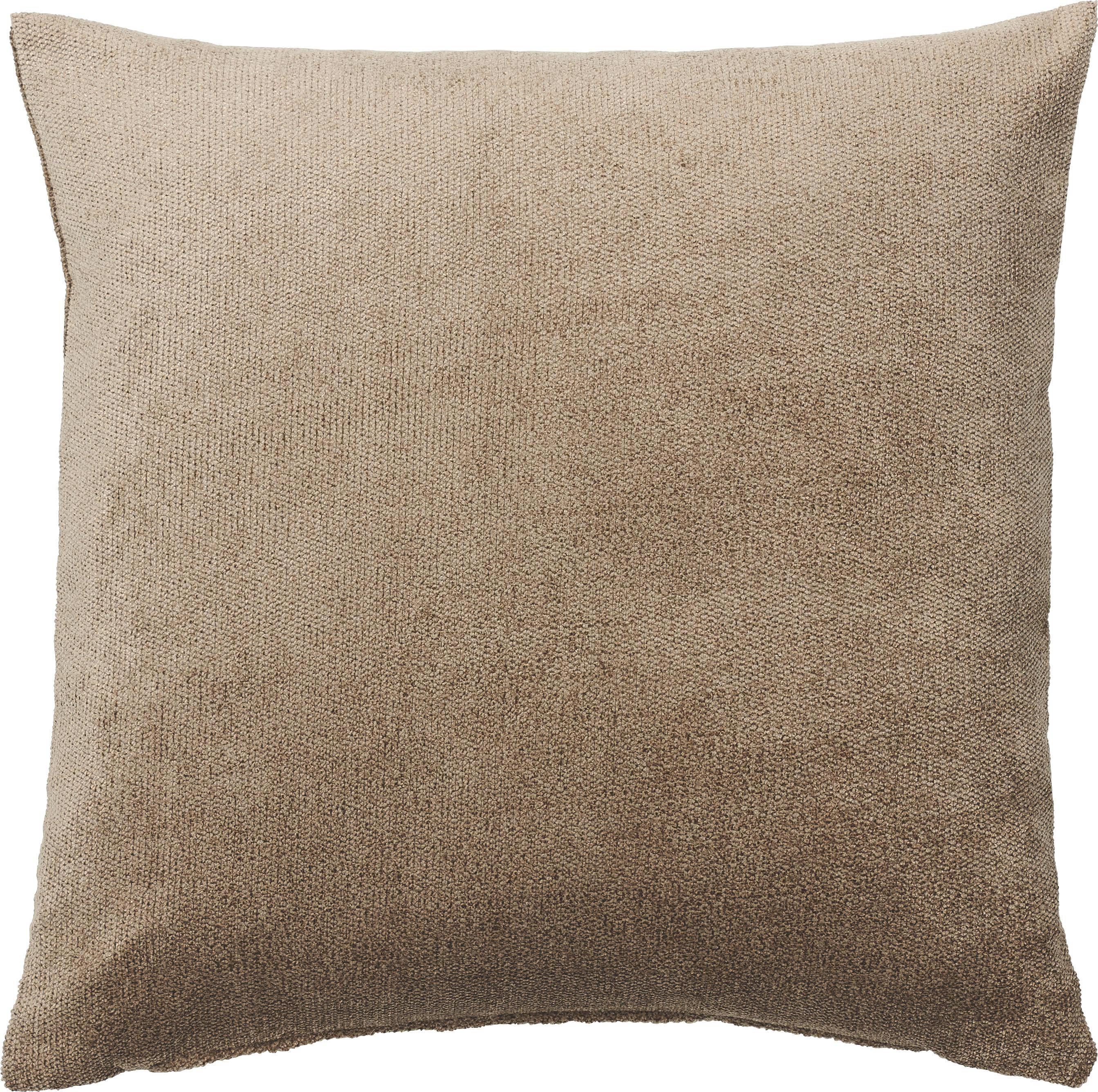 KISSENHÜLLE Taupe 50/50 cm - Taupe, Basics, Textil (50/50cm)