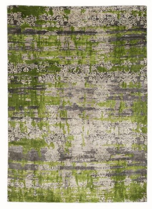 ORIENTTEPPICH  90/160 cm  Grau, Hellgrün - Hellgrün/Grau, Basics, Textil (90/160cm) - Esposa