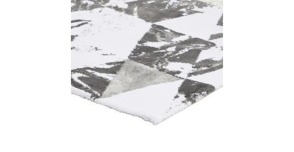 BADEMATTE  70/120 cm  Anthrazit, Silberfarben   - Anthrazit/Silberfarben, Design, Textil (70/120cm) - Ambiente