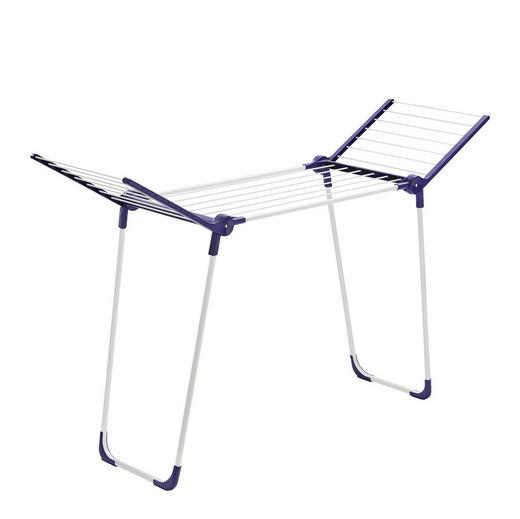 PEGASUS 120 Standtrockner - Blau/Weiß, Basics, Kunststoff (85/43,5/8cm) - Leifheit