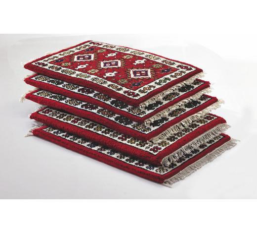 KOBEREC ORIENTÁLNÍ, 40/60 cm, červená, béžová - béžová/červená, Lifestyle, textil (40/60cm) - Esposa