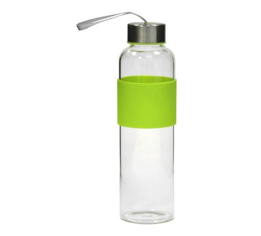 BOCA ZA SOK      0,6 L   - zelena/prozirno, Basics, staklo (7/7/23,5cm)