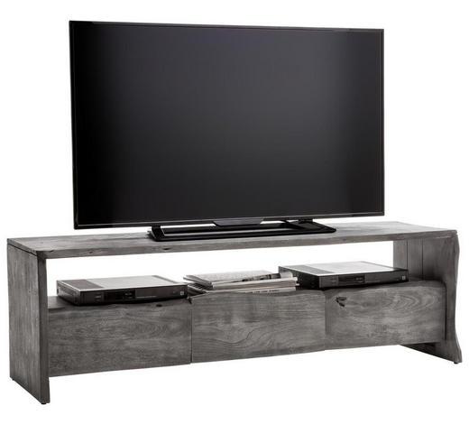 TV-ELEMENT 145/45/40 cm - Grau, LIFESTYLE, Holz (145/45/40cm) - Landscape