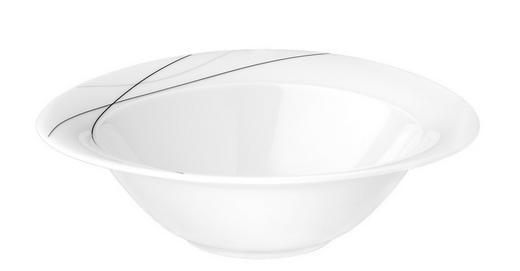 SCHÜSSEL Keramik Porzellan - Weiß, Basics, Keramik (21cm) - Seltmann Weiden