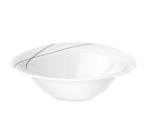 SCHÜSSEL 21 cm - Weiß, KONVENTIONELL, Keramik (21cm) - Seltmann Weiden