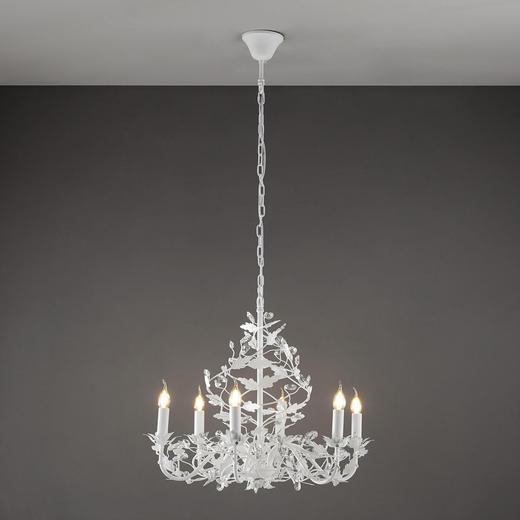 HÄNGELEUCHTE - Weiß, MODERN, Metall (65/60cm)
