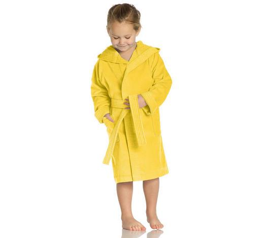 KINDERBADEMANTEL - Gelb, Basics, Textil (104null) - Vossen