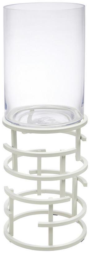 LJUSLYKTA - klar/vit, Design, metall/glas (21/64,6cm) - Ambia Home