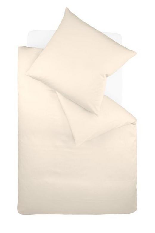 Bettwäsche-Garnitur 200 x 200 Creme 200/200 cm - Creme, Textil (200/200cm) - FLEURESSE