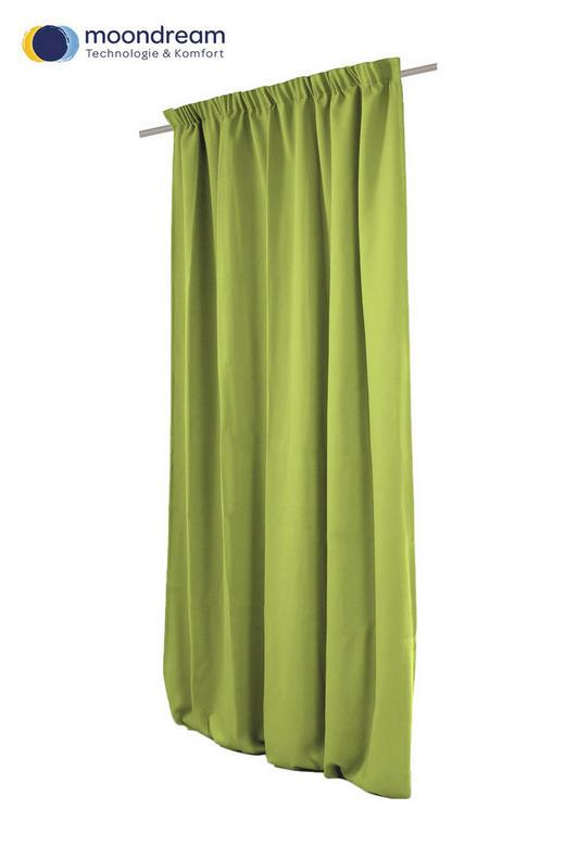 VERDUNKELUNGSVORHANG  Verdunkelung  145/260 cm - Grün, Textil (145/260cm)