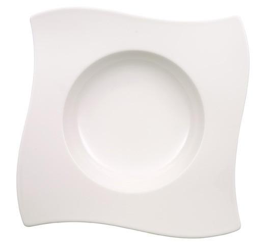 SUPPENTELLER Fine China - Weiß, Basics (24/24cm) - VILLEROY & BOCH